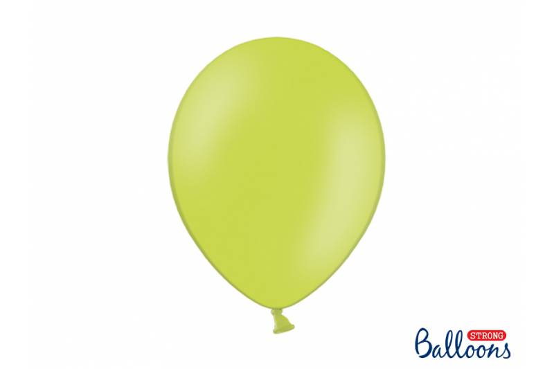 Balony Strong 30cm, Pastel Lime Green, 10szt.